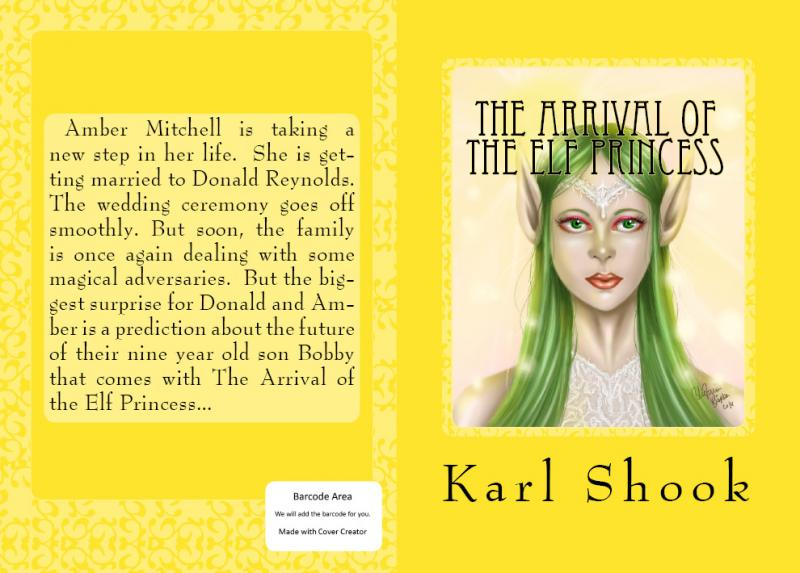 The cover for The Arrival of the Elf Princess